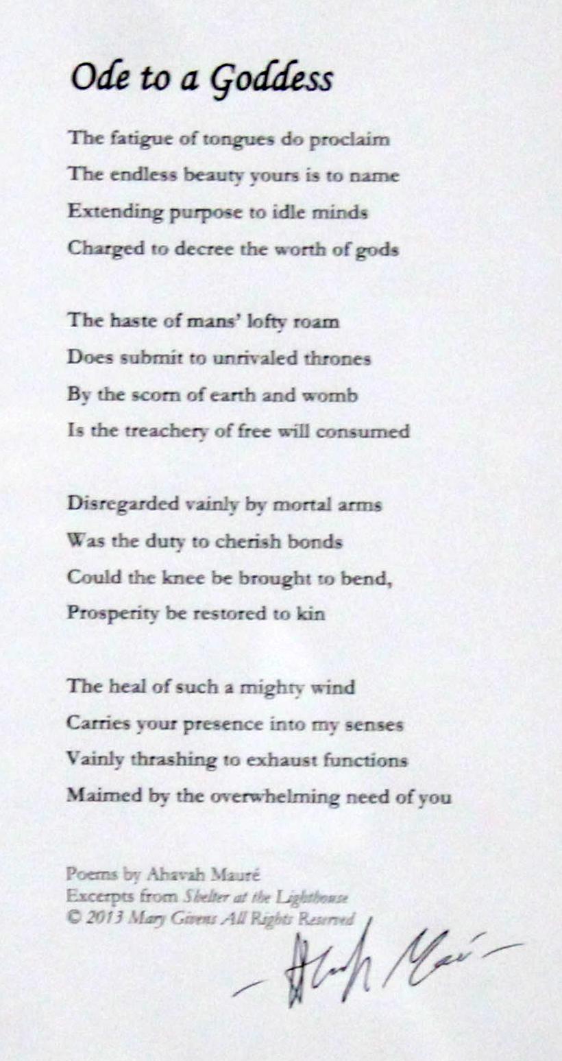Poem-Ode
